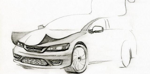 Автомобиль под пленкой_интересные дизайнерские решения