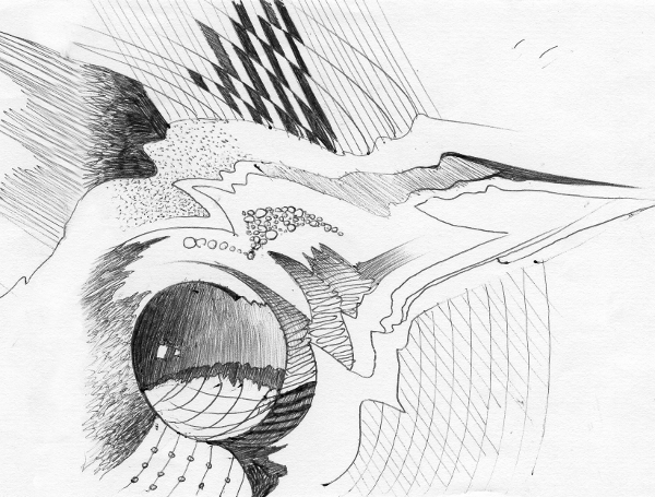 Алексей Епишин иллюстрация к музыке Жан Мишель Жарр