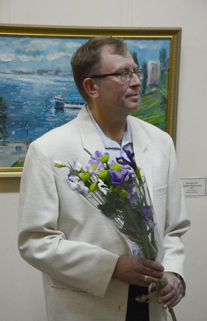 Алексей Чусляев. Открытие выставки