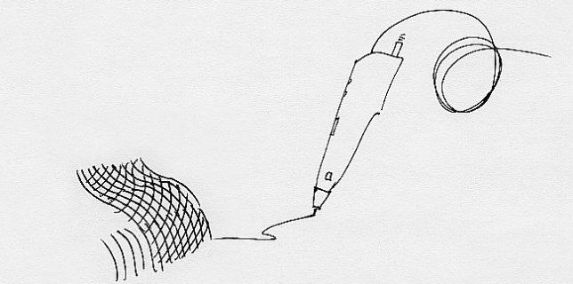 А если штриховать 3D ручкой