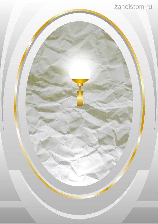 Декоративное оформление стены в классическом стиле 2. Художник Алексей Епишин 650х