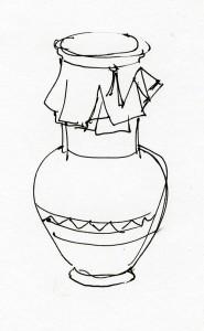 Зарисовка кувшина
