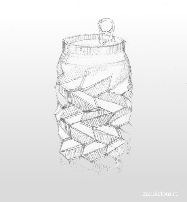 Необычная-скульптура-из-алюминиевой-банки