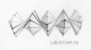 Подвижное оригами