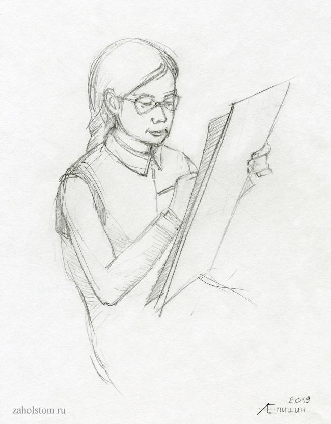Преподавание рисунка и живописи. Инструктивно-практический метод