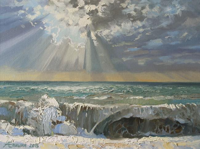 Рокот моря в лучах солнца