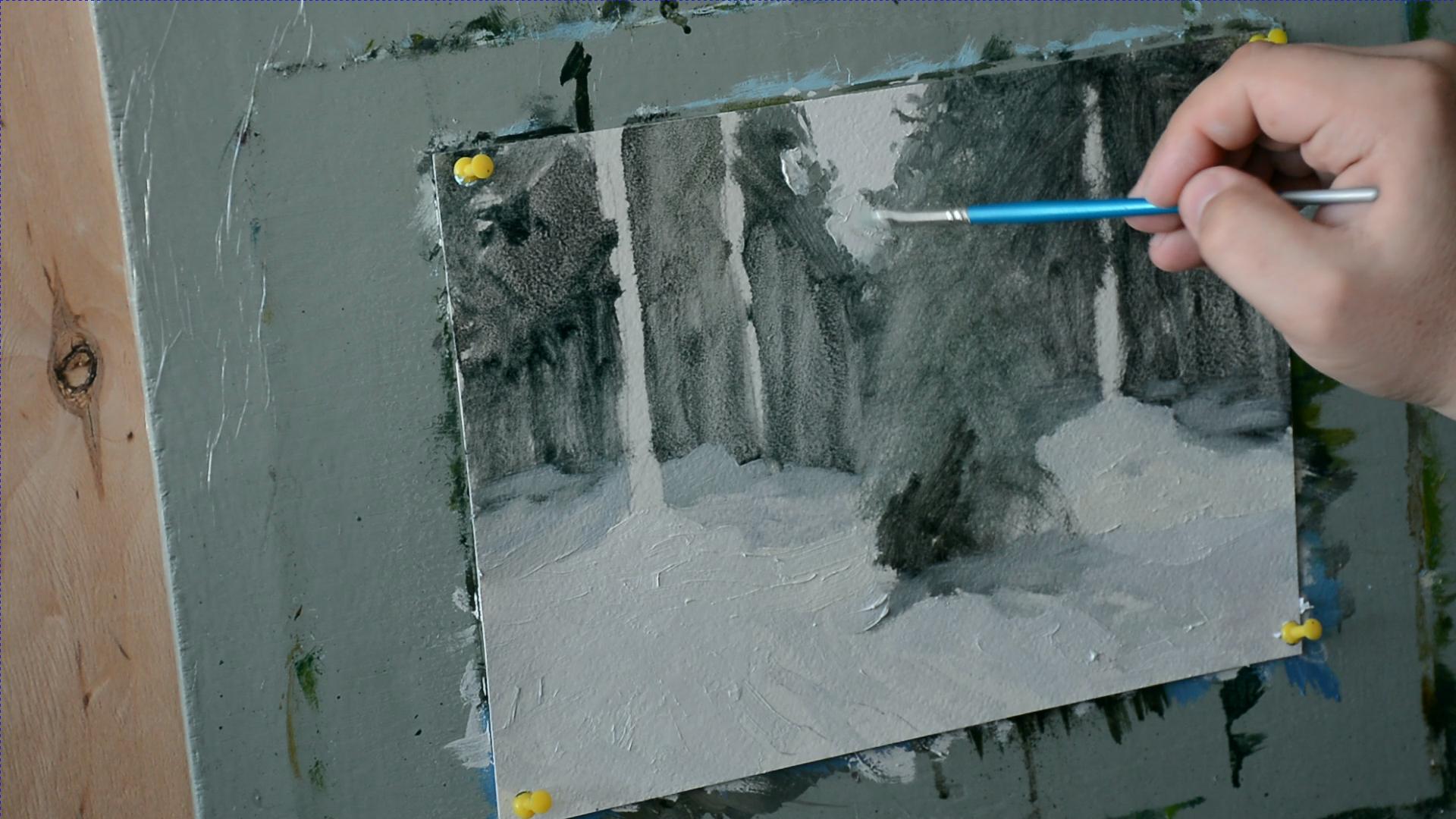 Секрет белого цвета в живописи 002