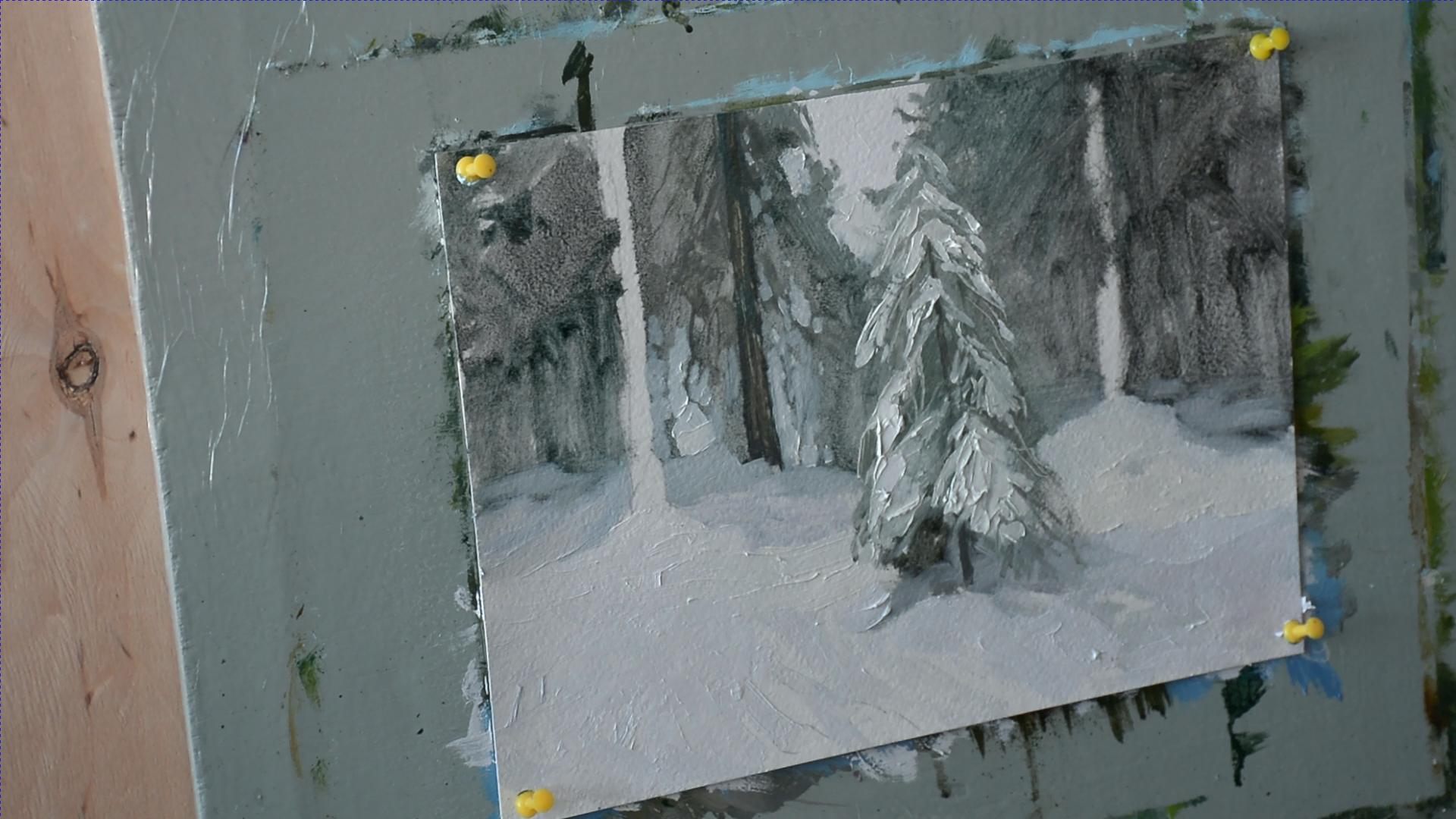 Секрет белого цвета в живописи 003