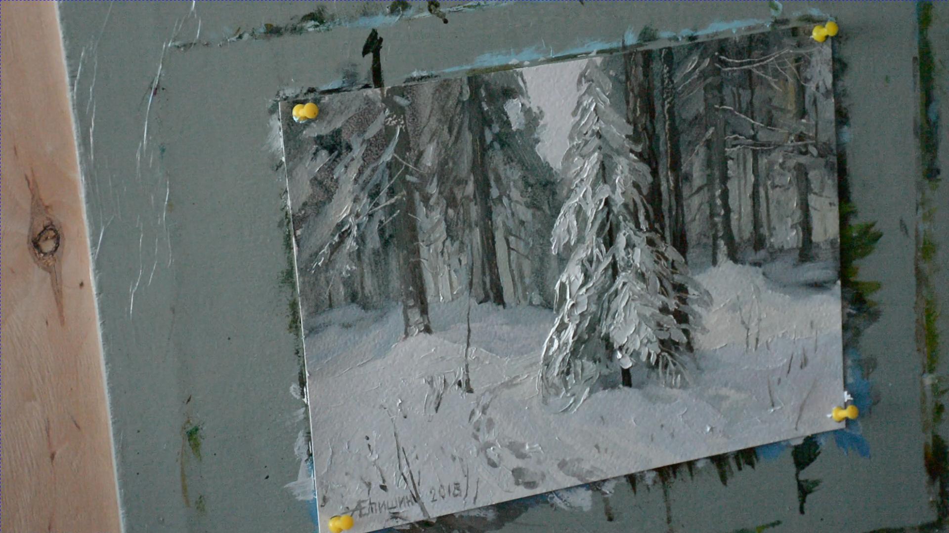 Секрет белого цвета в живописи 005