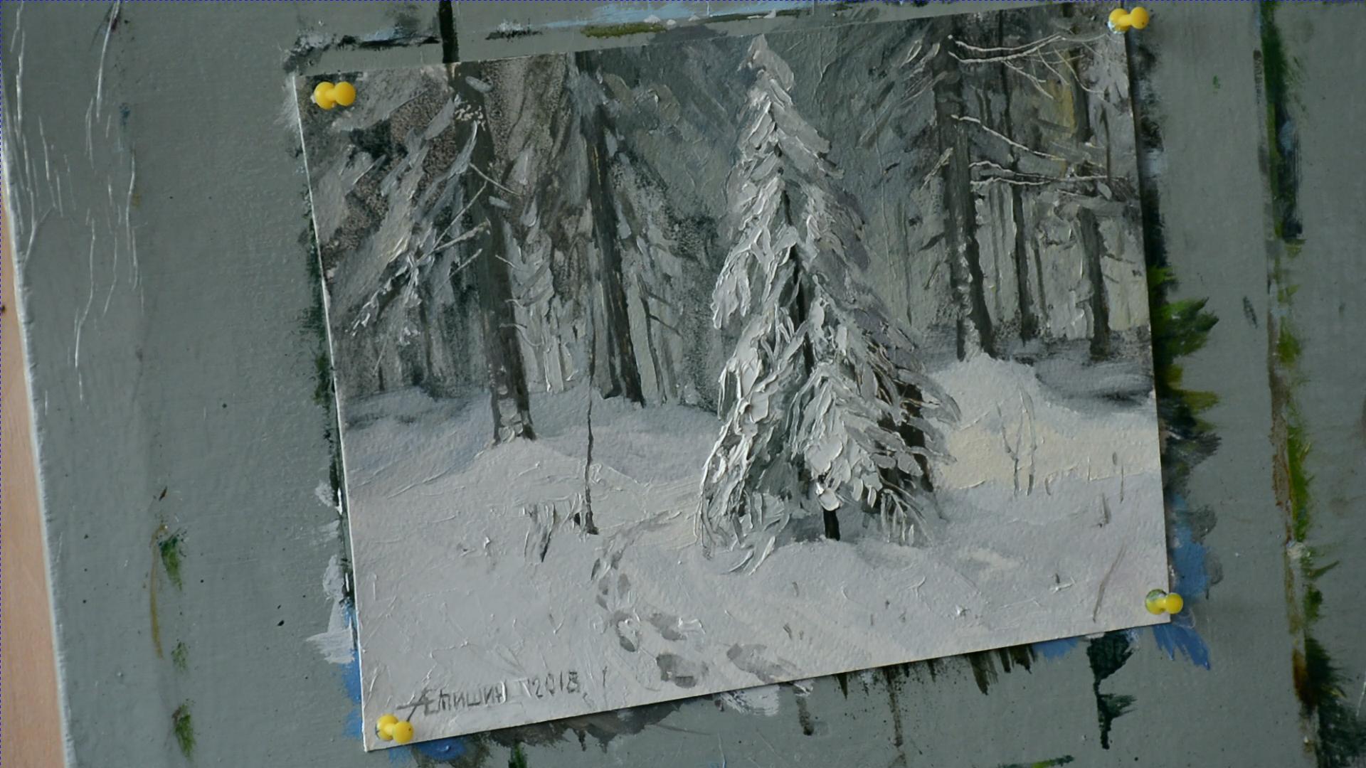 Секрет белого цвета в живописи 006