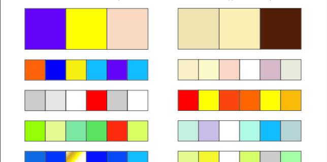 Сочетания цветов в дизайне интерьера