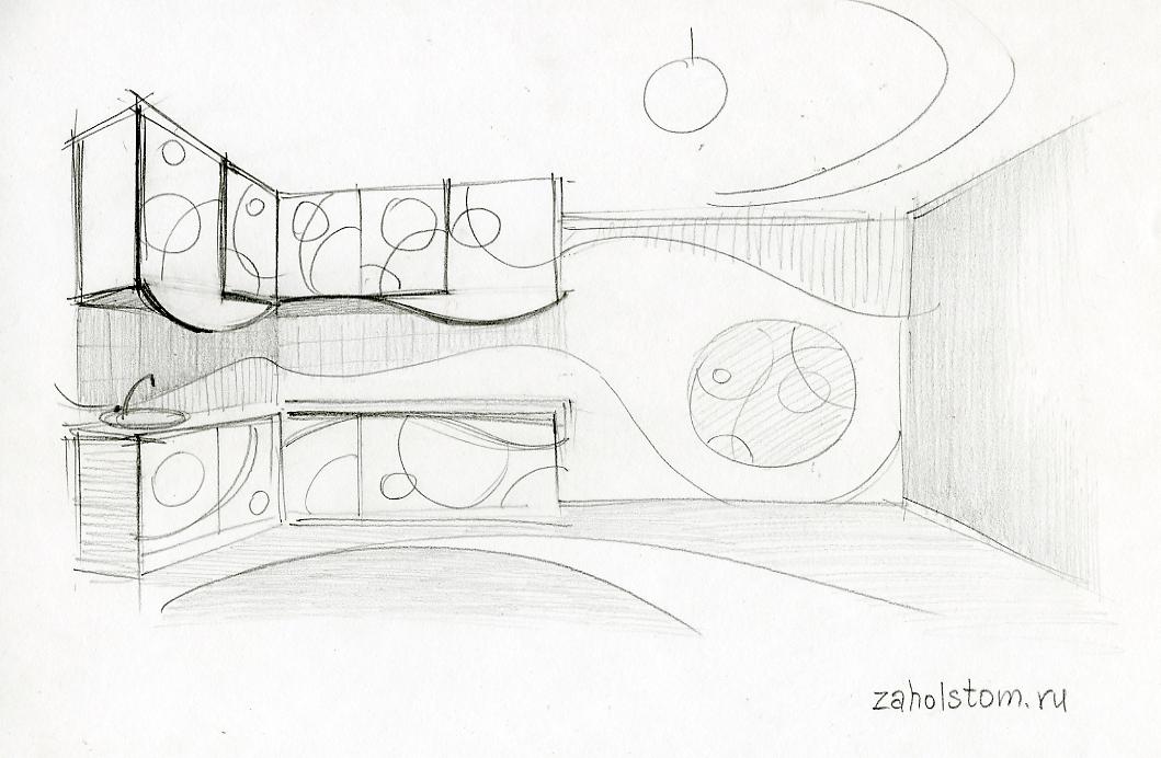 Стилевое единство контуров в дизайне интерьера