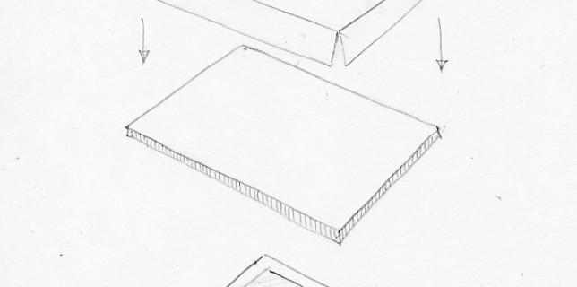 Стиратор для натягивания бумаги в акварельной живописи