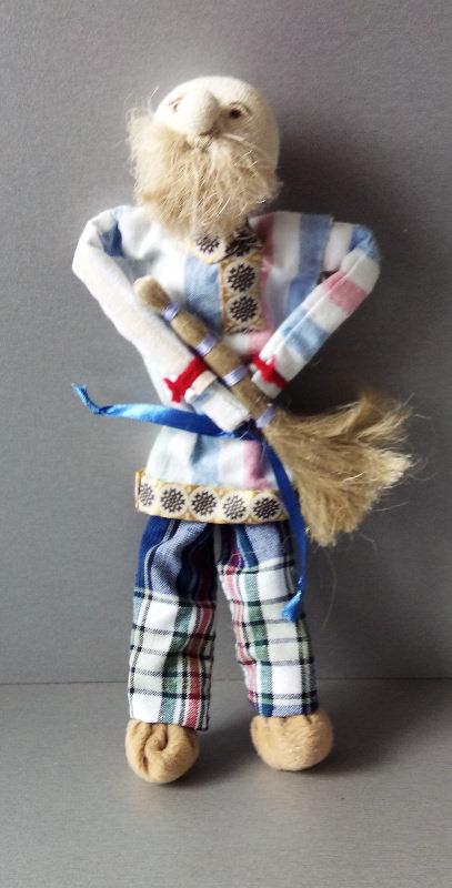 "Характерные куклы: ""Дед"". Автор: Киреева Ирина Валиковна"