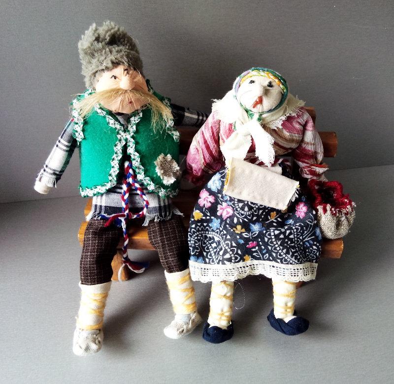 "Характерные куклы: ""Парочка"". Автор: Кондрашова Елена Борисовна."