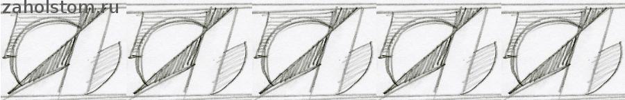 001 Ленточный орнамент