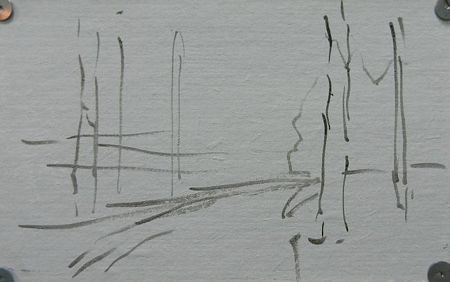 001 Лес на берегу Сурского водохранилища