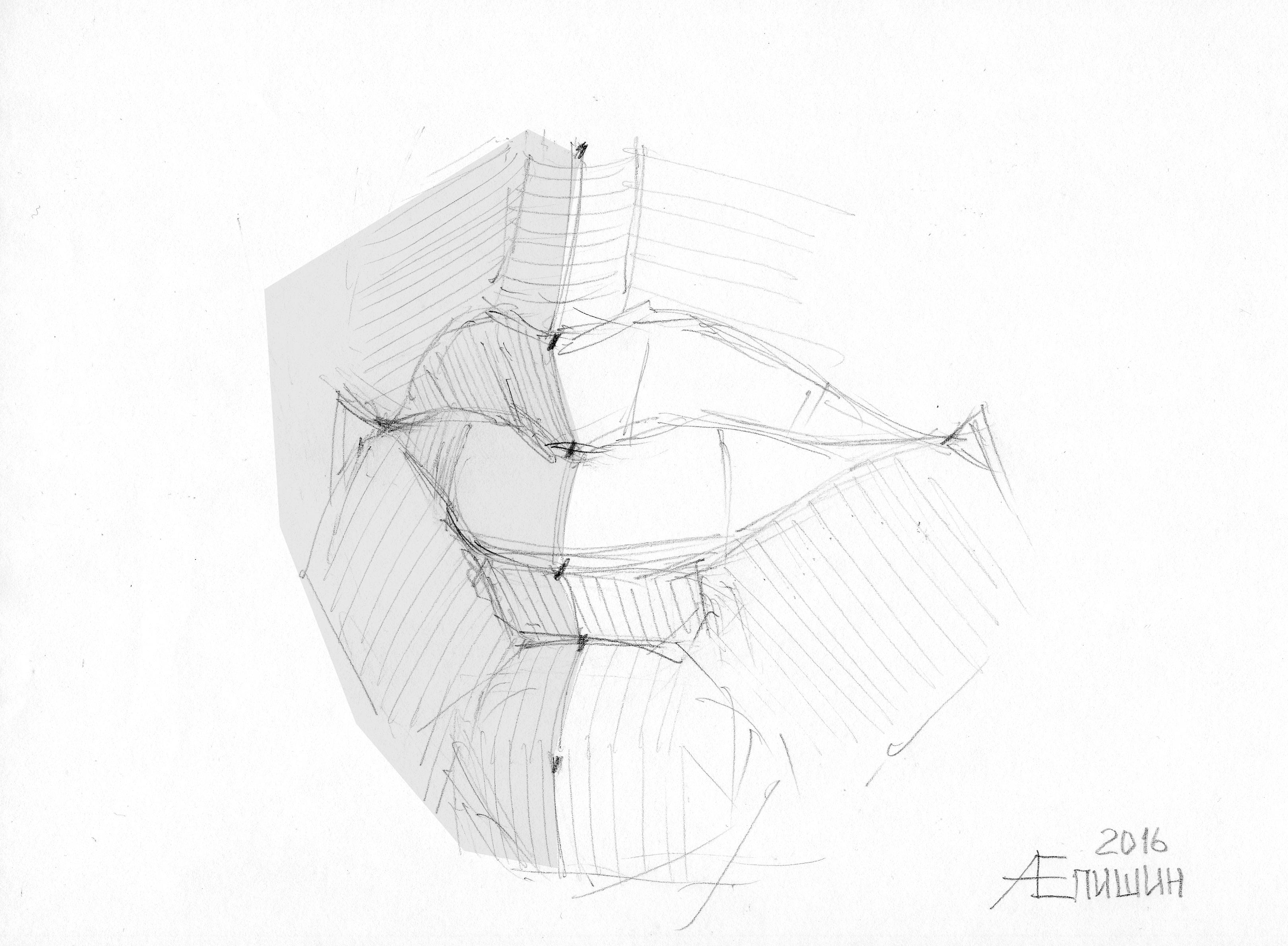 002 Как рисовать губы. Художник Алексей Епишин