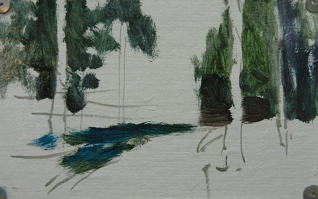 002 Лес на берегу Сурского водохранилища