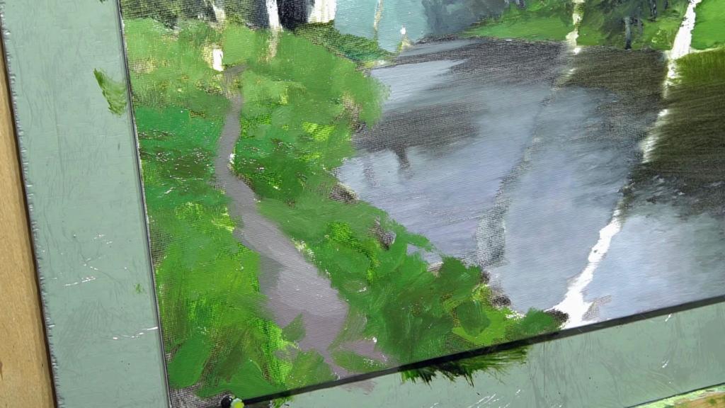 003 Живопись маслом_как художники рисуют дождь