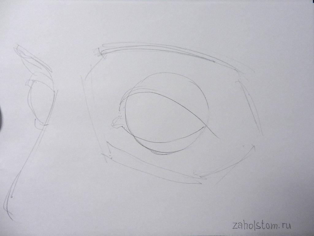003 Как рисовать глаза
