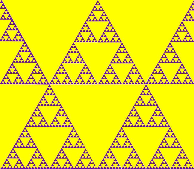003 Треугольник Серпинского