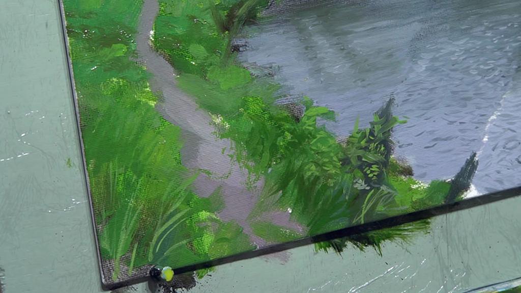 004 Живопись маслом_как художники рисуют дождь