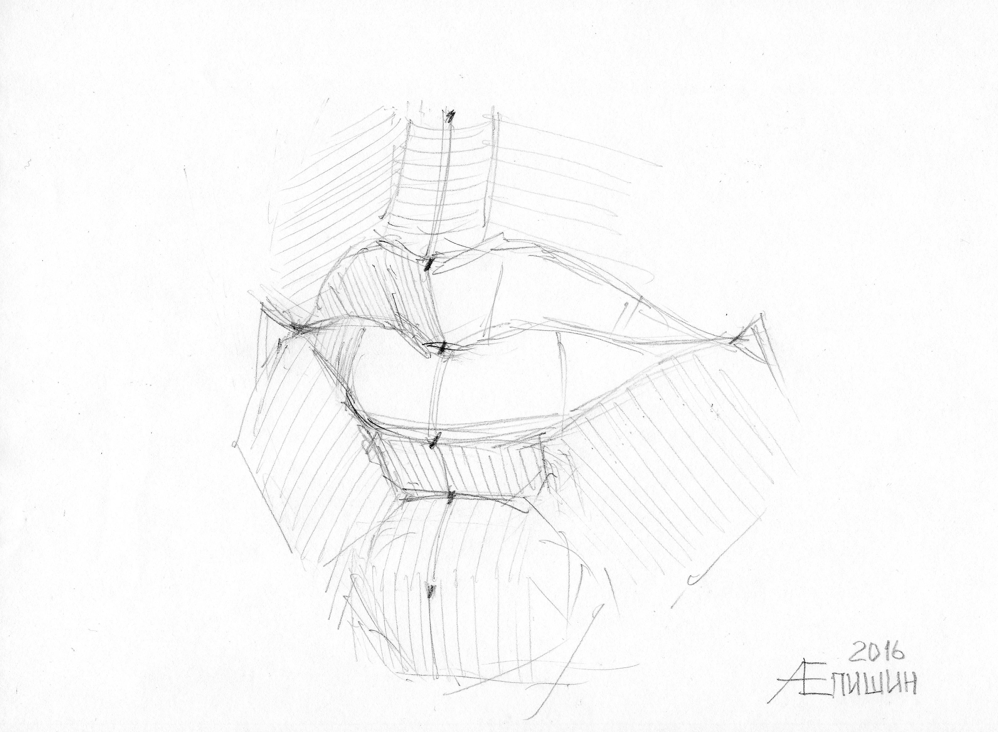 004 Как рисовать губы. Художник Алексей Епишин