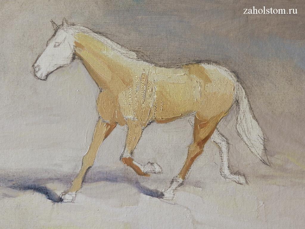 005 Как рисовать лошадь. Алексей Епишин