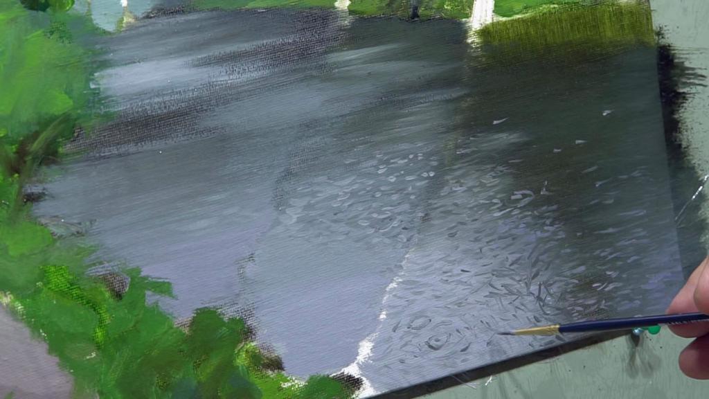006 Живопись маслом_как художники рисуют дождь