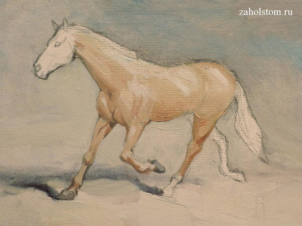 006 Как рисовать лошадь. Алексей Епишин