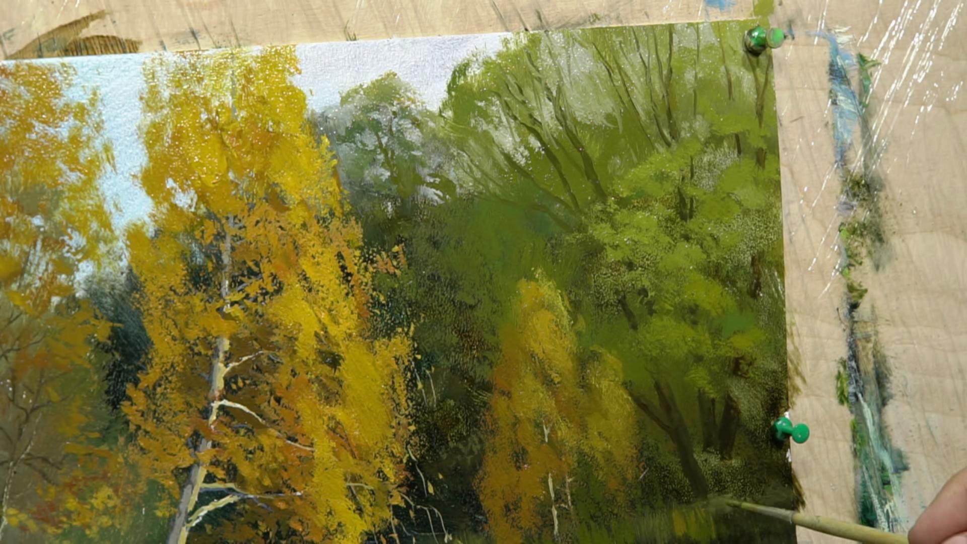 006 Размывка в живописи