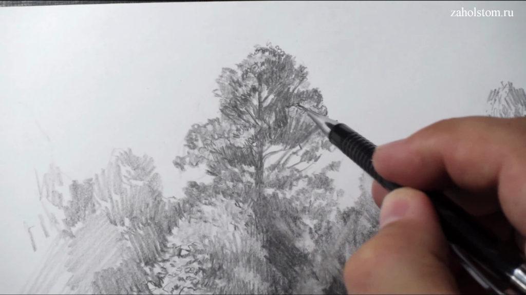 006 Фокусы со штрихом. Рисунок карандашом