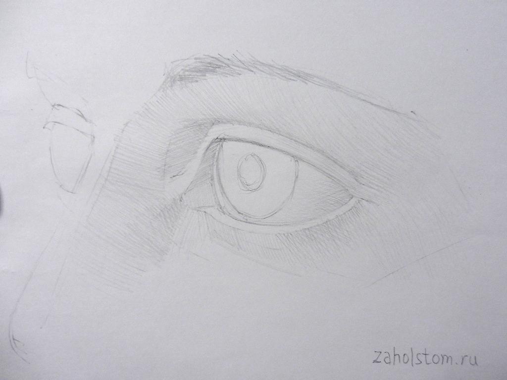 007 Как рисовать глаза