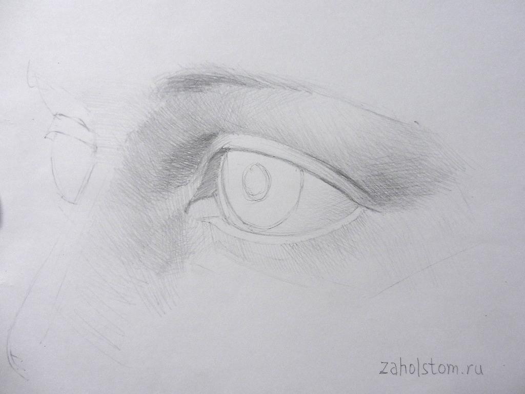 008 Как рисовать глаза