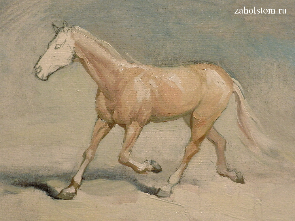008 Как рисовать лошадь. Алексей Епишин