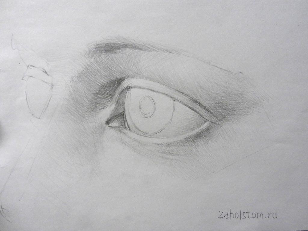 009 Как рисовать глаза