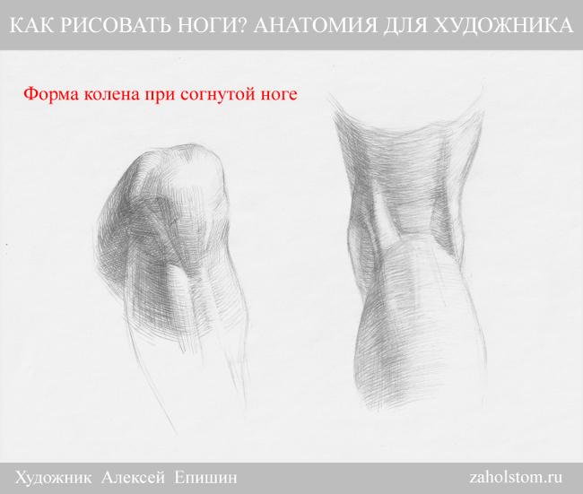 009 Как рисовать ноги_Анатомия для художника