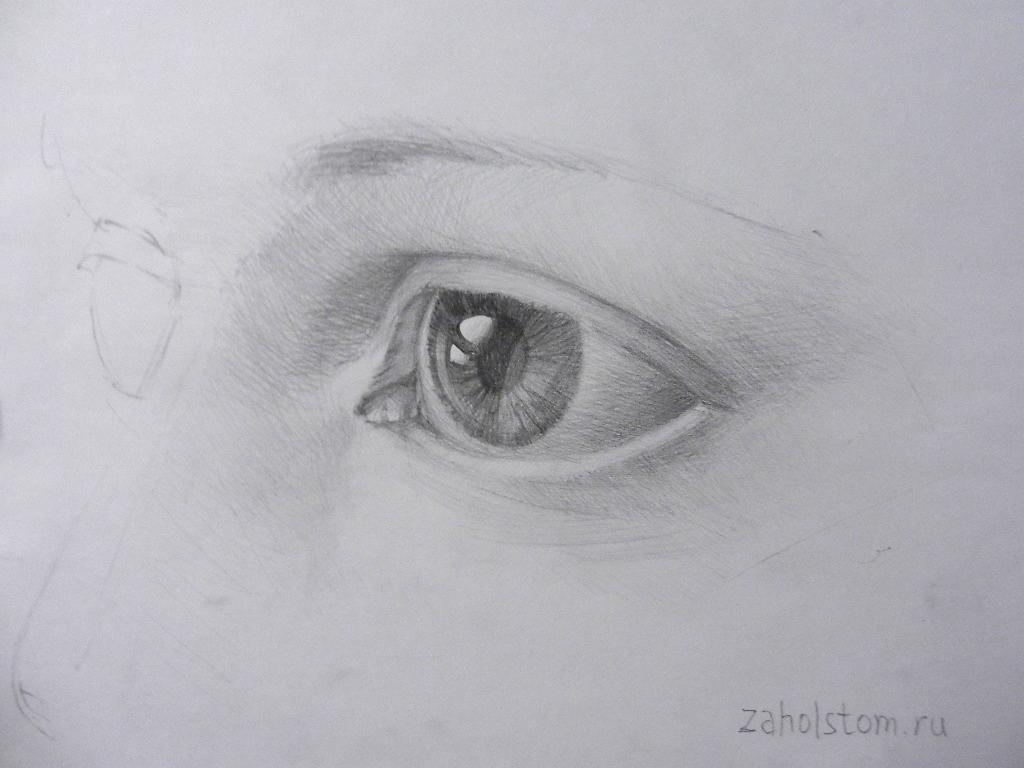 010 Как рисовать глаза