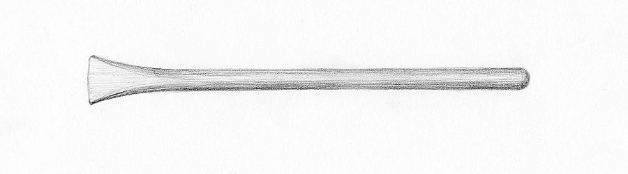 011 Инструменты для скульптуры. Скарпели