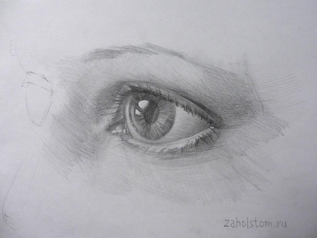 011 Как рисовать глаза