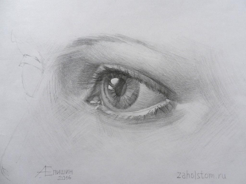 012 Как рисовать глаза