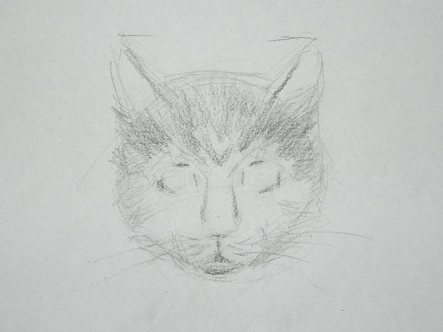 09 Как рисовать кошку
